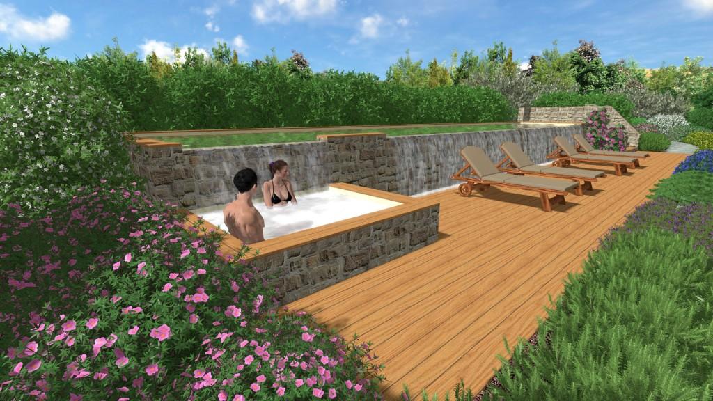 Progettiamo giardini di lusso e design frullani group for Manuale progettazione giardini