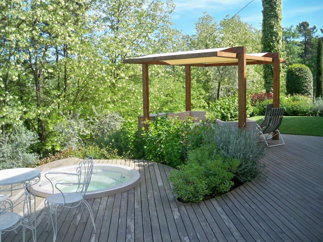 giardino a Montecatini Terme 2