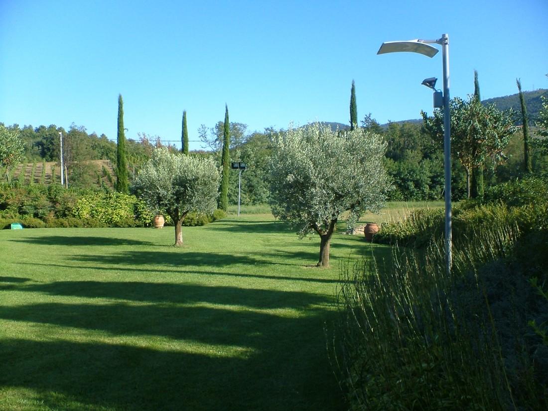 giardino con piscina a Siena 8