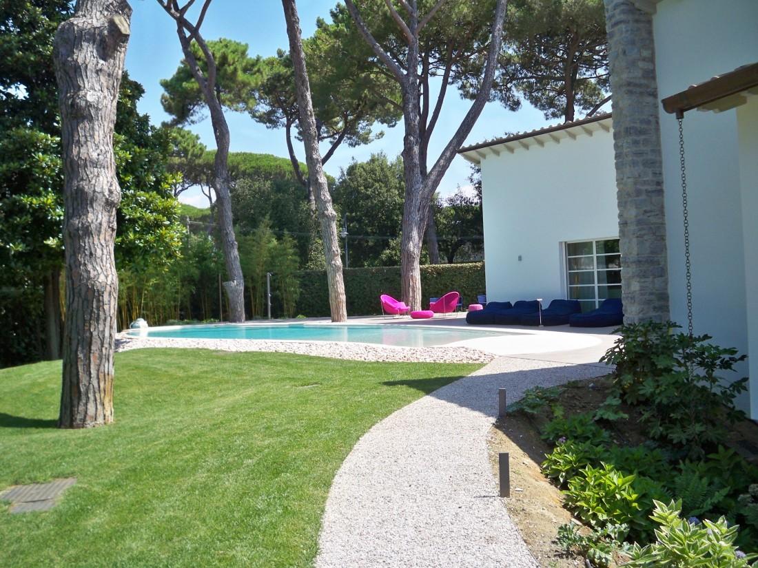 giardino villa al mare 1