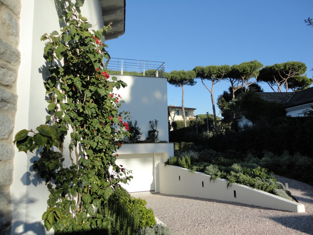 giardino villa al mare 9